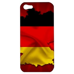 Germany Map Flag Country Red Flag Apple Iphone 5 Hardshell Case