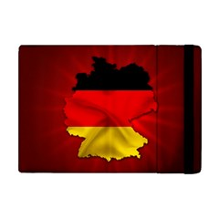 Germany Map Flag Country Red Flag Apple Ipad Mini Flip Case
