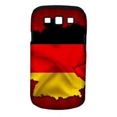 Germany Map Flag Country Red Flag Samsung Galaxy S Iii Classic Hardshell Case (pc+silicone)