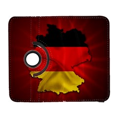 Germany Map Flag Country Red Flag Galaxy S3 (flip/folio)