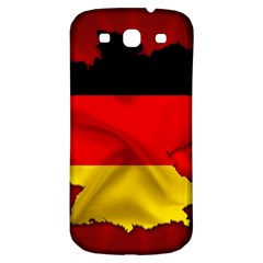Germany Map Flag Country Red Flag Samsung Galaxy S3 S Iii Classic Hardshell Back Case
