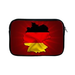 Germany Map Flag Country Red Flag Apple Ipad Mini Zipper Cases