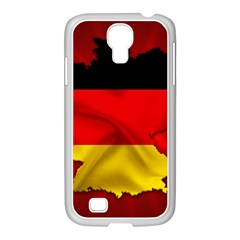 Germany Map Flag Country Red Flag Samsung Galaxy S4 I9500/ I9505 Case (white)