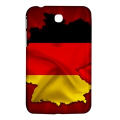 Germany Map Flag Country Red Flag Samsung Galaxy Tab 3 (7 ) P3200 Hardshell Case