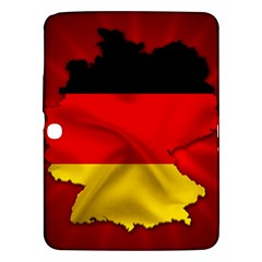Germany Map Flag Country Red Flag Samsung Galaxy Tab 3 (10 1 ) P5200 Hardshell Case