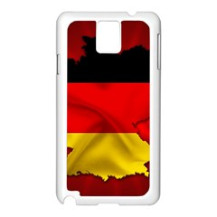 Germany Map Flag Country Red Flag Samsung Galaxy Note 3 N9005 Case (white)