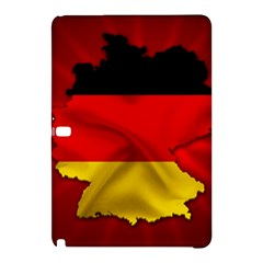 Germany Map Flag Country Red Flag Samsung Galaxy Tab Pro 10 1 Hardshell Case