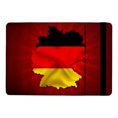Germany Map Flag Country Red Flag Samsung Galaxy Tab Pro 10 1  Flip Case