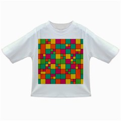 Squares Abstract Background Abstract Infant/toddler T Shirts