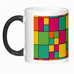 Squares Abstract Background Abstract Morph Mugs