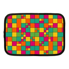 Squares Abstract Background Abstract Netbook Case (medium)