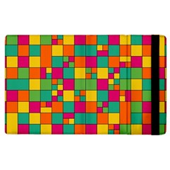 Squares Abstract Background Abstract Apple Ipad 2 Flip Case by Nexatart