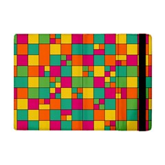 Squares Abstract Background Abstract Apple Ipad Mini Flip Case by Nexatart