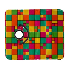 Squares Abstract Background Abstract Galaxy S3 (flip/folio)