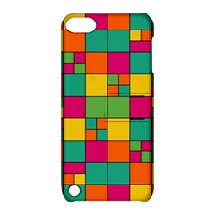 Squares Abstract Background Abstract Apple Ipod Touch 5 Hardshell Case With Stand
