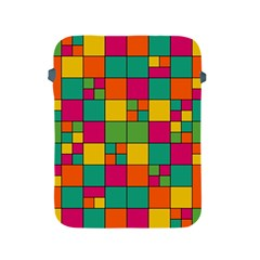 Squares Abstract Background Abstract Apple Ipad 2/3/4 Protective Soft Cases
