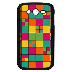 Squares Abstract Background Abstract Samsung Galaxy Grand Duos I9082 Case (black)