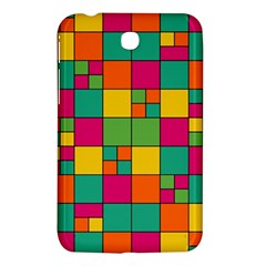 Squares Abstract Background Abstract Samsung Galaxy Tab 3 (7 ) P3200 Hardshell Case