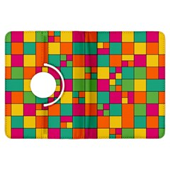 Squares Abstract Background Abstract Kindle Fire Hdx Flip 360 Case