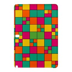 Squares Abstract Background Abstract Samsung Galaxy Tab Pro 10 1 Hardshell Case