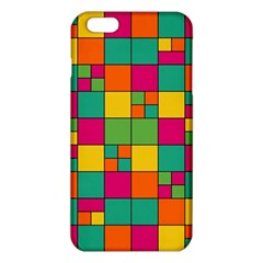 Squares Abstract Background Abstract Iphone 6 Plus/6s Plus Tpu Case