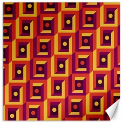 3 D Squares Abstract Background Canvas 20  X 20
