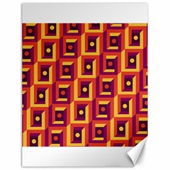 3 D Squares Abstract Background Canvas 18  X 24