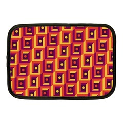 3 D Squares Abstract Background Netbook Case (medium)