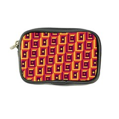 3 D Squares Abstract Background Coin Purse