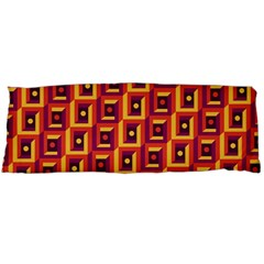 3 D Squares Abstract Background Body Pillow Case (dakimakura)