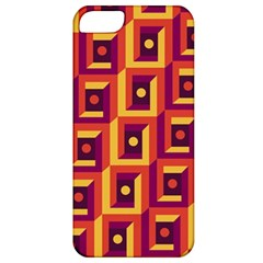 3 D Squares Abstract Background Apple Iphone 5 Classic Hardshell Case