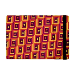 3 D Squares Abstract Background Apple Ipad Mini Flip Case