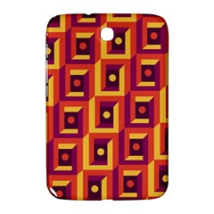 3 D Squares Abstract Background Samsung Galaxy Note 8 0 N5100 Hardshell Case