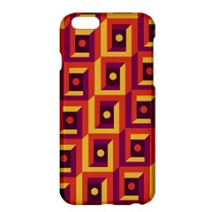 3 D Squares Abstract Background Apple Iphone 6 Plus/6s Plus Hardshell Case