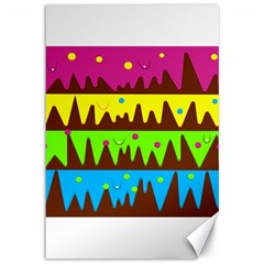 Illustration Abstract Graphic Canvas 12  X 18