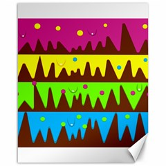 Illustration Abstract Graphic Canvas 16  X 20