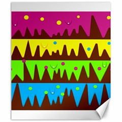 Illustration Abstract Graphic Canvas 20  X 24