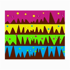 Illustration Abstract Graphic Small Glasses Cloth (2 Side)