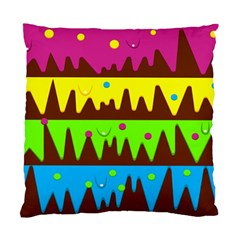 Illustration Abstract Graphic Standard Cushion Case (two Sides)