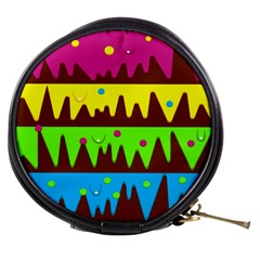 Illustration Abstract Graphic Mini Makeup Bags