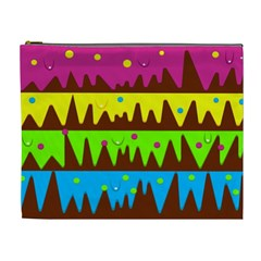 Illustration Abstract Graphic Cosmetic Bag (xl)