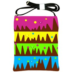 Illustration Abstract Graphic Shoulder Sling Bags