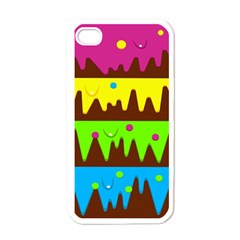 Illustration Abstract Graphic Apple Iphone 4 Case (white)