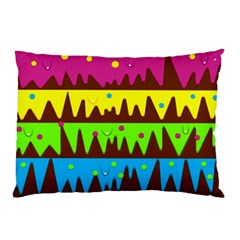 Illustration Abstract Graphic Pillow Case (two Sides)