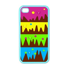 Illustration Abstract Graphic Apple Iphone 4 Case (color)