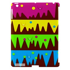 Illustration Abstract Graphic Apple Ipad 3/4 Hardshell Case (compatible With Smart Cover)