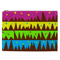 Illustration Abstract Graphic Cosmetic Bag (xxl)