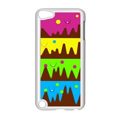 Illustration Abstract Graphic Apple Ipod Touch 5 Case (white)