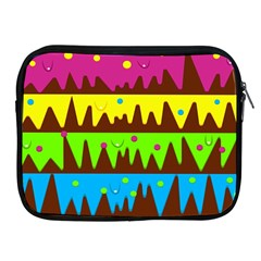 Illustration Abstract Graphic Apple Ipad 2/3/4 Zipper Cases