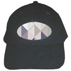 Background Geometric Triangle Black Cap